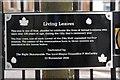 J3374 : Plaque near Belfast City Hall by Albert Bridge
