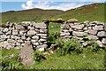 NG6216 : Ruins at Boreraig by John Allan