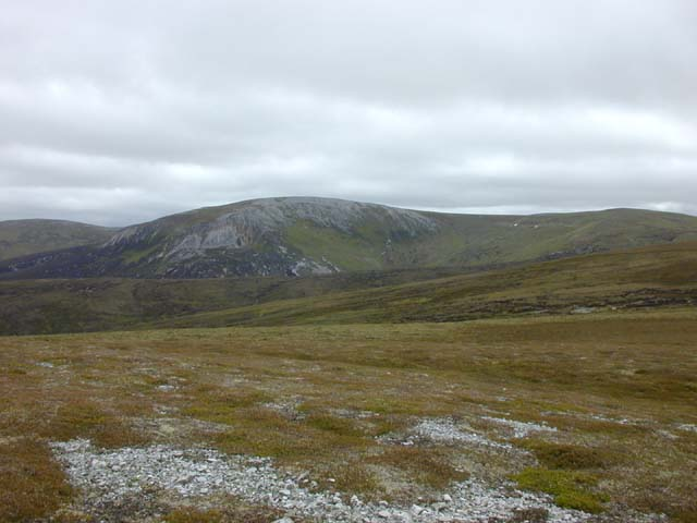 Moorland north west of Carn Bhac