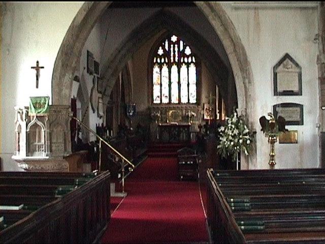 Cowbridge Church (interior)