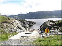 G6592 : Slipway at Loughros Point by Terry Stewart