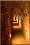 SZ6497 : Defensive tunnel in Southsea Castle by Peter Facey