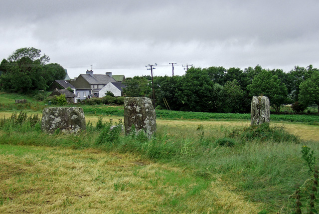 Stone Circle at Templebryan North