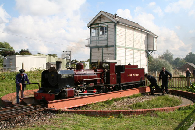 Bure Valley Railway, Wroxham, Norfolk