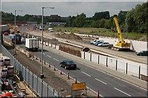 J3373 : The Westlink, Belfast (3) by Albert Bridge