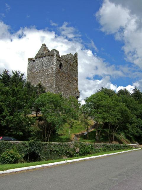 Castles of Munster: Ballinacarriga, Co. Cork