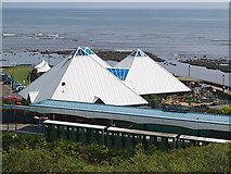 TA0390 : Station and Sea Life Centre by Stephen McCulloch