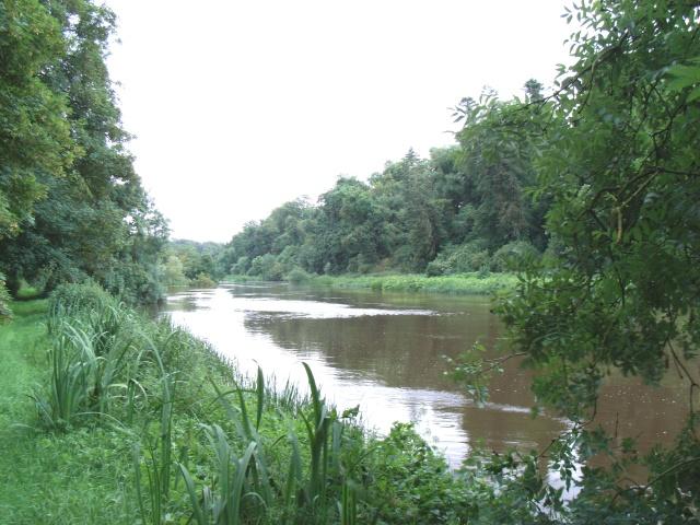 The Boyne Upstream of Slane Castle