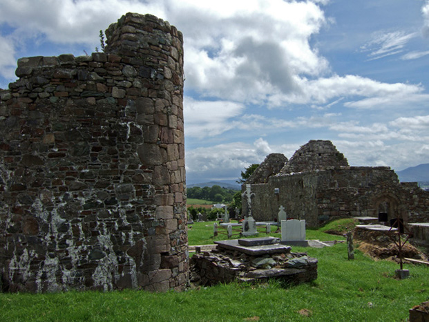 Aghadoe Round Tower and Church