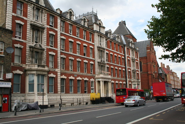 St Leonard's Hospital, Kingsland Road, London