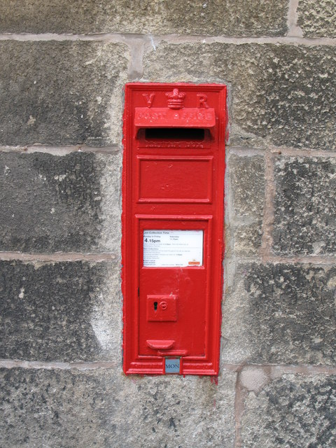 Victorian postbox on Riding Mill Station
