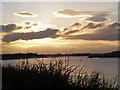 SE8022 : Sunset over the River Ouse. by Steve  Fareham