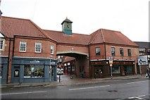 SK7954 : Bargate Shops by Richard Croft