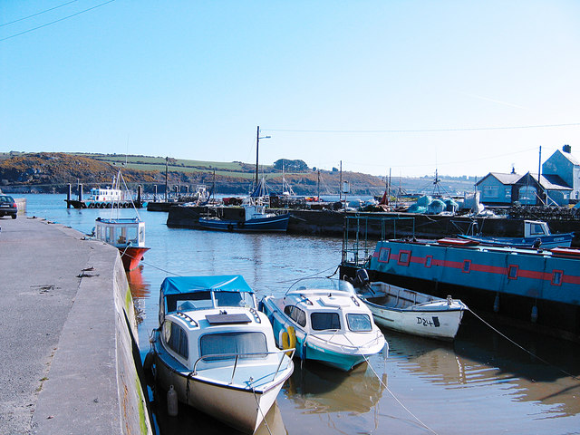 The harbour at Passage East