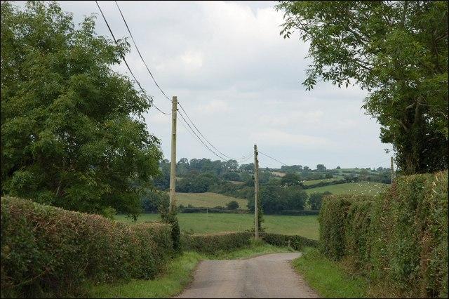 The Shanrod Road near Banbridge