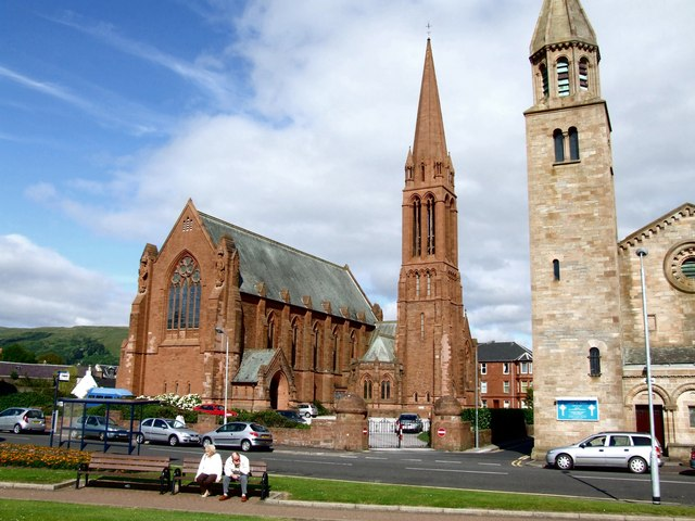 The Clark Memorial Church, Largs by Dave Hitchborne