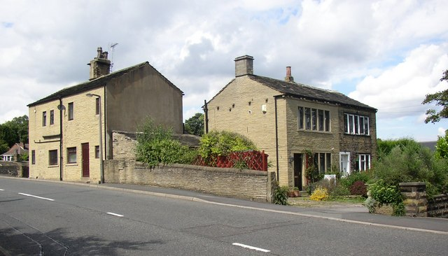 Two pairs of cottages, Field Lane, Rastrick