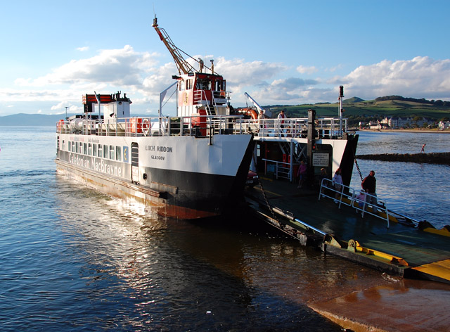 Cumbrae ferry at Largs by Greg Morss