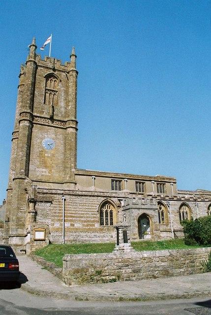 Cerne Abbas: parish church of St. Mary