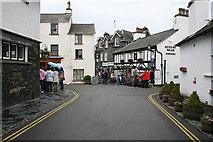 SD3598 : Main Street, Hawkshead by Kate Jewell