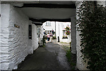 SD3598 : Vicarage Lane, Hawkshead by Kate Jewell