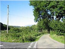 SH7519 : Minor road junction by Eric Jones
