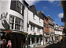 SX3384 : Church Street, Launceston by Derek Harper