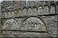 X1877 : Romanesque sculptures on St Declan's Cathedral by Philip Halling