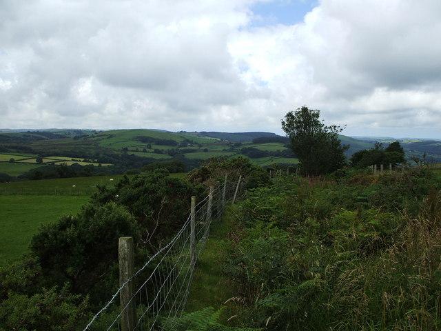 Bridleway leading towards Trefriw-Fawr