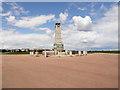 NZ3572 : War Memorial - Empress Gardens Whitley Bay by R J McNaughton