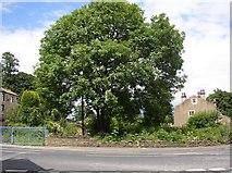 SE1421 : Site of smithy, Ogden Lane by Humphrey Bolton