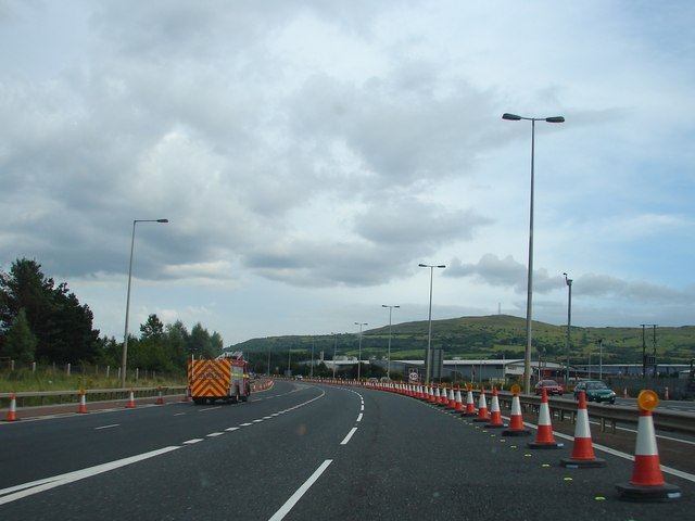 Slip Road at Junction 4 of the M2