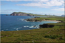 Q3102 : Clogher Head and view across Clogher Strand by Philip Halling