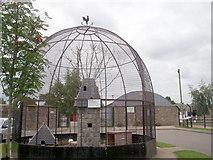 J0558 : Fowl Enclosure at The Animal Farm at Tannaghmore Gardens by P Flannagan