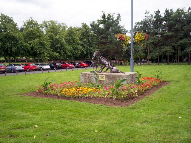 Entrance to Tannaghmore Gardens