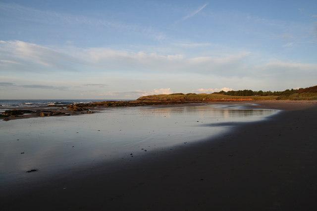 Ravensheugh Sands by Lisa Jarvis