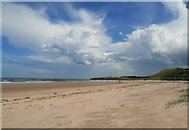 NT6281 : Ravensheugh Sands by Lisa Jarvis