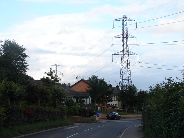 View of Upper Springfield Road