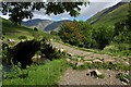 NY1808 : Bridge of Mosedale Beck at Wasdale Head by Philip Halling