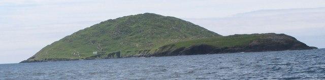 Deenish Island off Derrynane