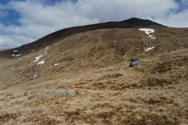 Western slopes of Meall Corranaich