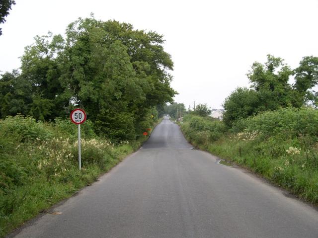 Road Near Seneschalstown Crossroads