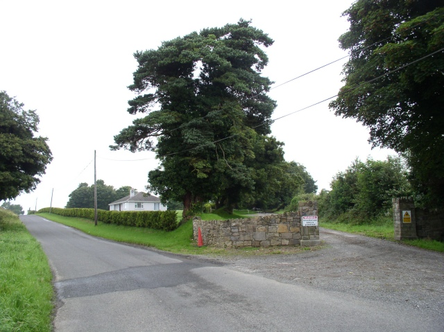 Entrance to Seneschalstown House