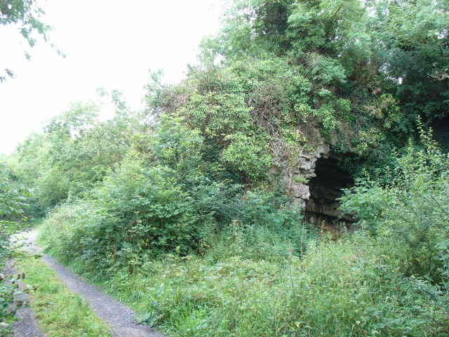 Rock Arch on the Boyne Canal