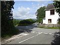 SO3307 : Croes Llanfair crossroads by Jonathan Billinger