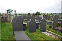 SH3434 : Mynwent Capel Bethel Penrhos Bethel Chapel burial ground by Alan Fryer