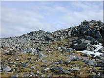 NH2172 : Summit of Beinn Liath Mhor Fannaich by Nigel Brown