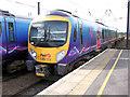 SE3693 : Two Pennine 185 trains at Northallerton by David Ward