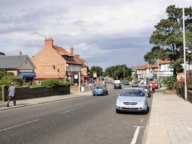 Monkseaton Village including Monkseaton Arms