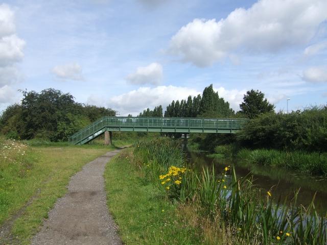 Footbridge over the Curly Wyrley